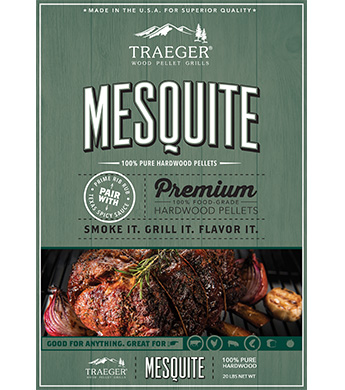 Traeger Mesquite All Natural Bbq Wood Pellets Wilco Farm