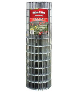 Galvanized Welded Wire Fence, 48 in. x 100 ft. - Wilco Farm Stores