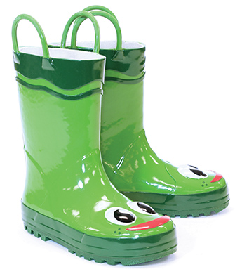 Washington Shoe Company Kid's Frog Rain Boots, 490401 - Wilco Farm ...